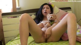 台湾豪放美眉与外国男友的淫乱生活#24 (VIP-Teddy-And-Me-Vibrator-Video)