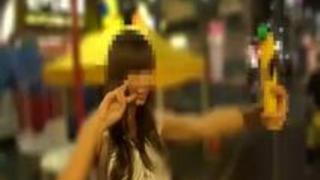 【巨乳動画無料】カワイイけど隙だらけな女の子を夜の街でゲット、速攻でハメ撮りしちゃいました。