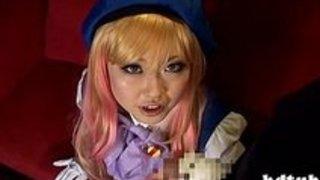 アニメっぽいコスプレプレ娘が一生懸命フェラチオをしてくれてます!素人|イクイクXVIDEOS日本人無料エロ動画まとめ