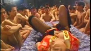 ぶっかけフェスティバル4 3/4日本人無修正ぶっかけ