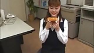 日本のトーストぶっかけ(食品上のスペルマ)
