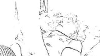 漫画ラテックス、ストッキング、クランプ、フェラチオ、クソ、オーガズム