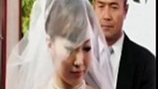 彼女の夫が眠っている間の結婚式の後のJAPの父親の嫁ファックの花嫁Pornallday.com