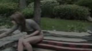 Jayna OSOは、日本庭園の性交を愛して