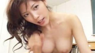 学校チューター後立花里子ザ・(AvIdolz.com)