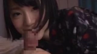 【鈴村あいり】神奈川出身24歳の綺麗でムラムラする美人子大生モデルを口説いてフェラ抜き三昧13【No12581】