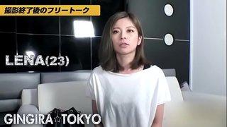 ギンギラ東京 気品ある美ギャルLENAが電マ片手に男を挑発!NONストップ淫乱NIGHT