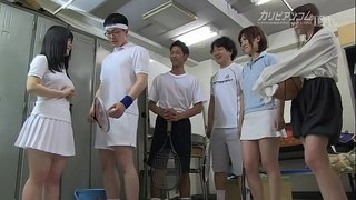 愛代さやか 大城かえで 幸田裕子 桂希ゆに  -  パンツ学園 第三話 - 1