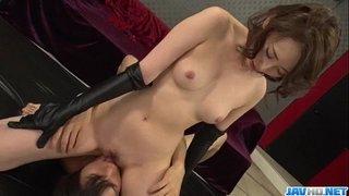 Aya Kisaki sexy wife amazing hardcore porn play